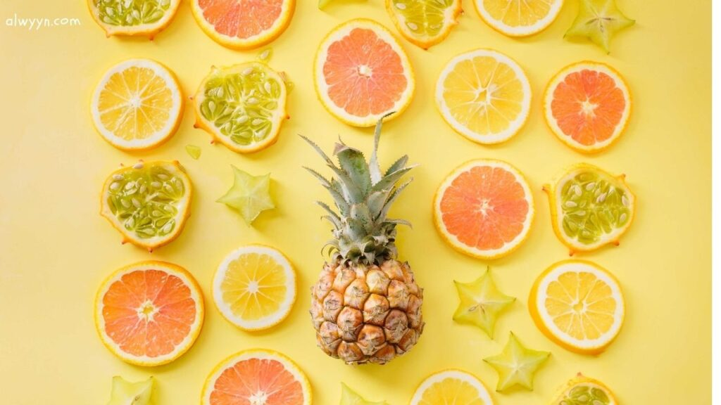 soothing fruits and foods